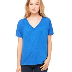 Ladies' Slouchy V-Neck T-Shirt Thumbnail