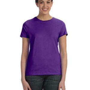 Ladies' 4.5 oz., 100% Ringspun Cotton nano-T® T-Shirt Thumbnail
