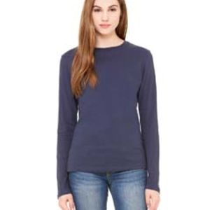 Ladies' Jersey Long-Sleeve T-Shirt Thumbnail