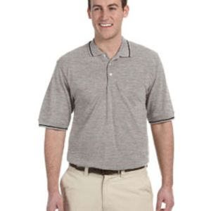 Men's 5.6 oz. Tipped Easy Blend™ Polo Thumbnail