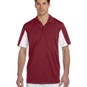 Men's Side Blocked Micro-Piqué Polo Thumbnail